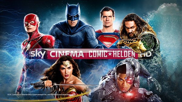 Sky Cinema Comic-Helden HD